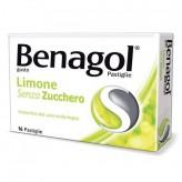 Benagol Senza Zucchero gusto Limone - 16 Pastiglie