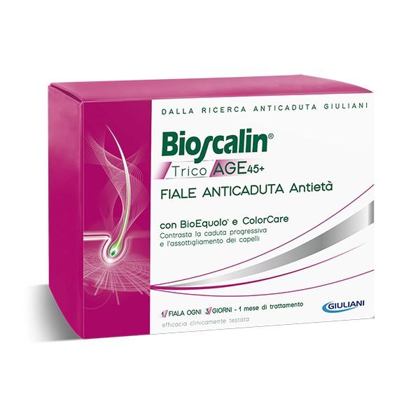Bioscalin Fiale Anticaduta Antietà Tricoage con Bioequolo