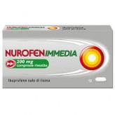 NurofenImmedia 200 mg Ibuprofene - 12 Compresse