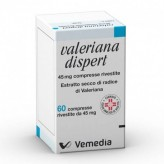 Valeriana Dispert 45 mg - 60 Compresse Rivestite