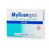 Mylicongas 40 mg Simeticone - 50 Compresse Masticabili