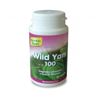 Wild Yam 100 Natural Point - 80 capsule vegetali