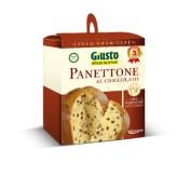Panettone con Gocce di Cioccolato Senza Glutine Giusto - 500 g
