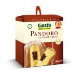 Pandoro con Cuore di Cacao Senza Glutine Giusto - 360 g