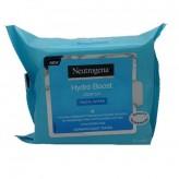 Neutrogena Hydro Boost Cleanser Salviette Struccanti - 25 Pezzi