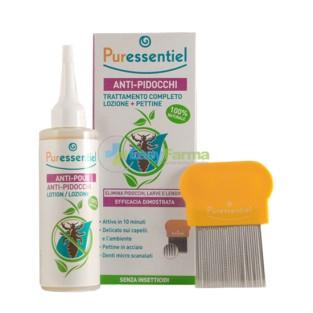 Puressentiel Anti Pidocchi Trattamento Completo Lozione 100 ml + Pettine