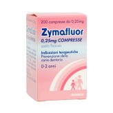 Zymafluor 0,25 mg - 200 Compresse