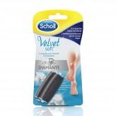 Ricarica Velvet Soft Roll Scholl Extra Esfoliante - 2 testine