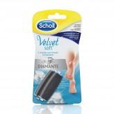 Ricarica Velvet Soft Touch Roll Scholl - 2 testine