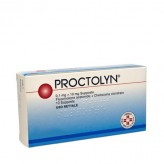 Proctolyn 0,1mg+10mg  - 10 Supposte