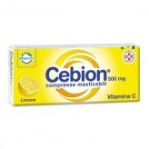 Cebion 500 mg Vitamina C - 20 Compresse Masticabili Limone