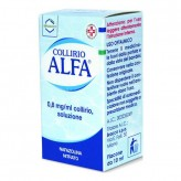 Collirio Alfa 0,8 mg - Flacone 10 ml