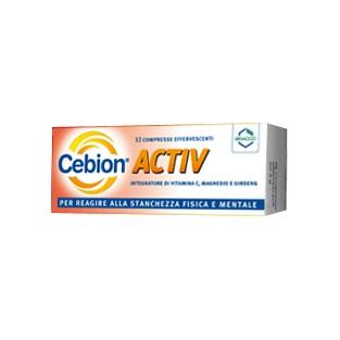 Cebion Activ - 12 Compresse Effervescenti