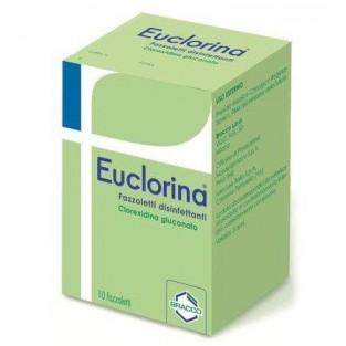 Euclorina - 10 Fazzoletti Disinfettanti