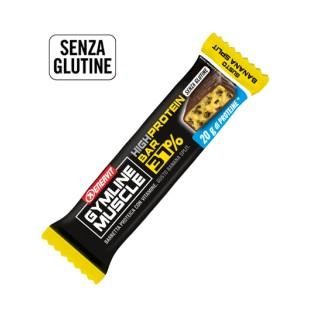 High protein bar 37% Enervit Gymline Muscle Banana Split