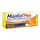 Maalox Plus - 50 Compresse Masticabili