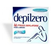 Strisce depilatorie viso e bikini Depilzero - 24 pezzi