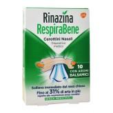 Rinazina Respirabene Cerotti Nasali Balsamici Adulti - 10 bretelline