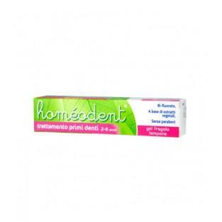 Homeodent Trattamento Primi Denti - Gel Fragola e Lampone