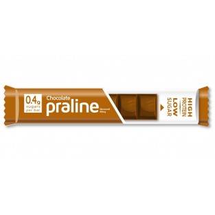 Barretta di cioccolata con ripieno nocciola - Dieta Zero