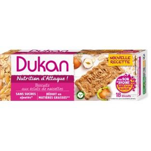 Biscotti di crusca d'avena alla nocciola Dukan -  225 g