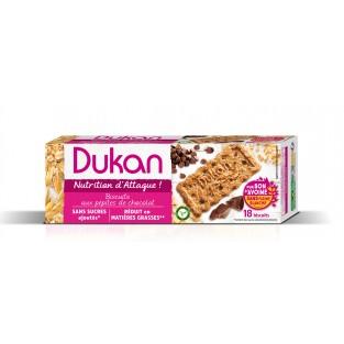 Biscotti di crusca d'avena con gocce di cioccolato Dukan - 225 g