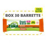 Barrette Snack Arancia e Cioccolato Enerzona - 30 pezzi