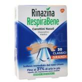 Rinazina RespiraBene Cerotti Nasali Grandi - 30 Bretelline