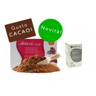Kit Promo: Amin 21 K Cacao e Snell Fame