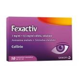 Fexactiv Collirio Monodose - 10 Flaconcini