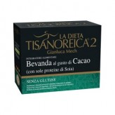 Bevanda Tisanoreica 2 gusto Cacao con Proteine di Soia - 4 buste