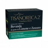 Tisanoreica 2 Bevanda al gusto di Limone e Zenzero - 4 buste