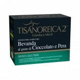 Tisanoreica 2 Bevanda al gusto di Cioccolato e Pera - 4 buste
