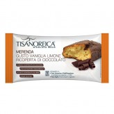 Merenda alla Vaniglia e Limone Ricoperta di Cioccolato Tisanoreica