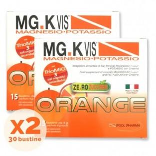 MgK Vis Zero Zuccheri Integratore Salino 15 + 15 Bustine