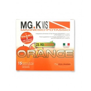 MgK Vis Zero Zuccheri Integratore Salino 15 Bustine