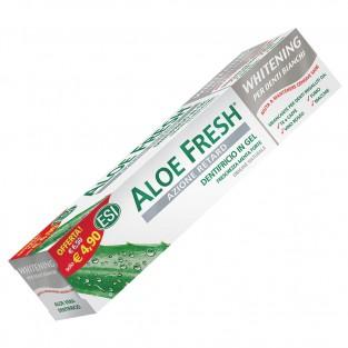 Dentifricio Aloe Fresh Whitening Retard Esi - 100 ml