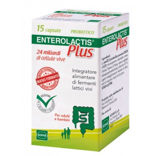 Enterolactis Plus - 15 capsule