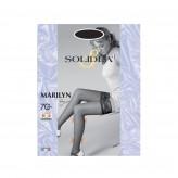 Solidea Marilyn Autoreggenti 70 Den - Nero