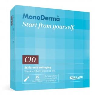 MonoDermà C10 Trattamento Viso Schiarente Anti-aging - 30 Perle