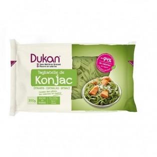 Tagliatelle di konjac Dukan agli spinaci
