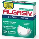 Algasiv Dentiera Superiore - 15 Cuscinetti Adesivi