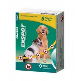 Exspot Soluzione Spot-on per Cani - 6 Pipette 1 ml