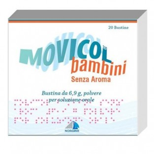 Movicol Bambini - 20 Buste Senza Aroma