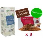 Kit Promo: 3 Amin 21 K Cacao + EcoDren