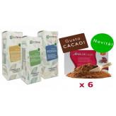 Kit Promo: 6 Amin 21 K Cacao + Fitoestratti Ecofarma Line