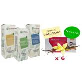Kit Promo: 6 Amin 21 K Vaniglia + Fitoestratti Ecofarma Line