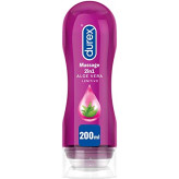 Durex Massage 2 in 1 Gel Lubrificante Aloe Vera