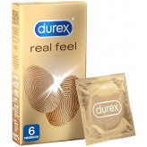 Durex Real Feel - 6 preservativi