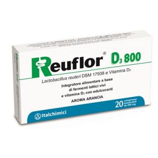 Reuflor D3 800 - 20 Compresse Masticabili